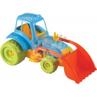 Orta Boy Kepçeli Traktör İş Makinası