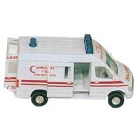 Ambulans Metal Araba Sesli