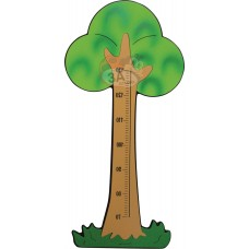 Ağaç Figürlü Boy Cetveli