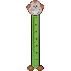 Maymun Figürlü Boy Cetveli