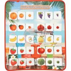 Büyük Küçük Meyve Oyunu Keçe Pano