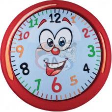 Gülen Saat Halı 200 cm çap