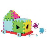 Arabalı Puzzle 12 Parça