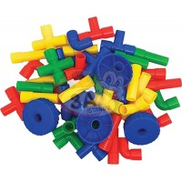 Oyuncak Boru Lego 72 Parça