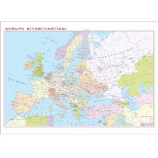 Avrupa Siyasi 100x140cm