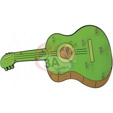 Gitar Müzik Aletleri Panosu