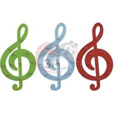 Sol Anahtarı Müzik Aletleri Panosu