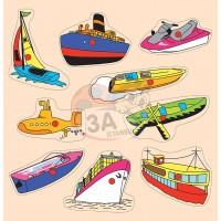 Deniz Taşıtları Puzzle