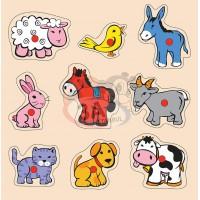 Evcil Hayvanlar Puzzle
