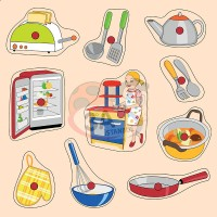 Mutfak Gereçleri Puzzle
