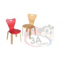 Renkli Kontra Anaokulu Sandalyesi