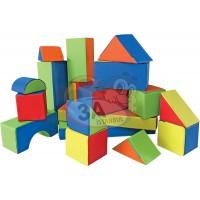 18 Parça Sünger Yapı Blokları