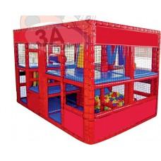 File Korumalı Soft Play Oyun Merkezi 300 x 200 x 200 cm