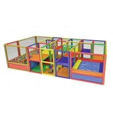 File Korumalı Soft Play Oyun Merkezi 700 x 300 x 200 cm
