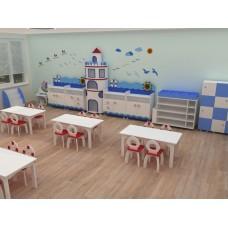 Mavi Deniz Feneri Sınıf Konsepti