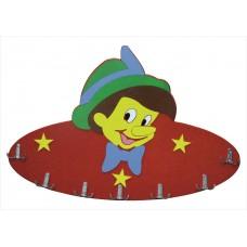 Pinokyo Figürlü Ahşap Askılık Çeşitleri