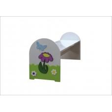 Çiçek Figürlü Bank