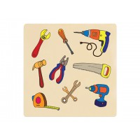Ahşap Puzzle El Aletleri 30x30