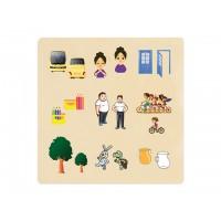 Ahşap Puzzle Zıt Kavramlar 30x30