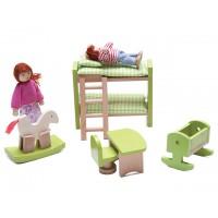 Mini Çocuk Odası Seti 5 Parça