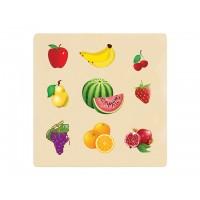 Ahşap Puzzle Meyveler 30x30