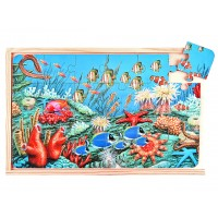 Okyanus Tema Puzzle 4 Lü Set