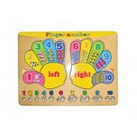 Parmaklarımı Say Puzzle