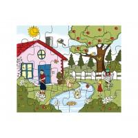 Mevsimler Puzzle Yaz