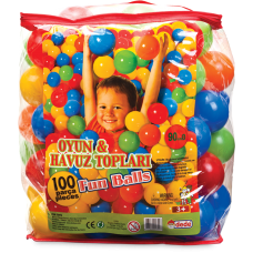 Oyun Havuzu Topları 100 Parça 9mm
