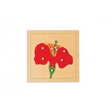 24 x 24 Çiçek Puzzle