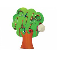 Ağaç Müzik Köşesi 11 Parça Müzik Aletli